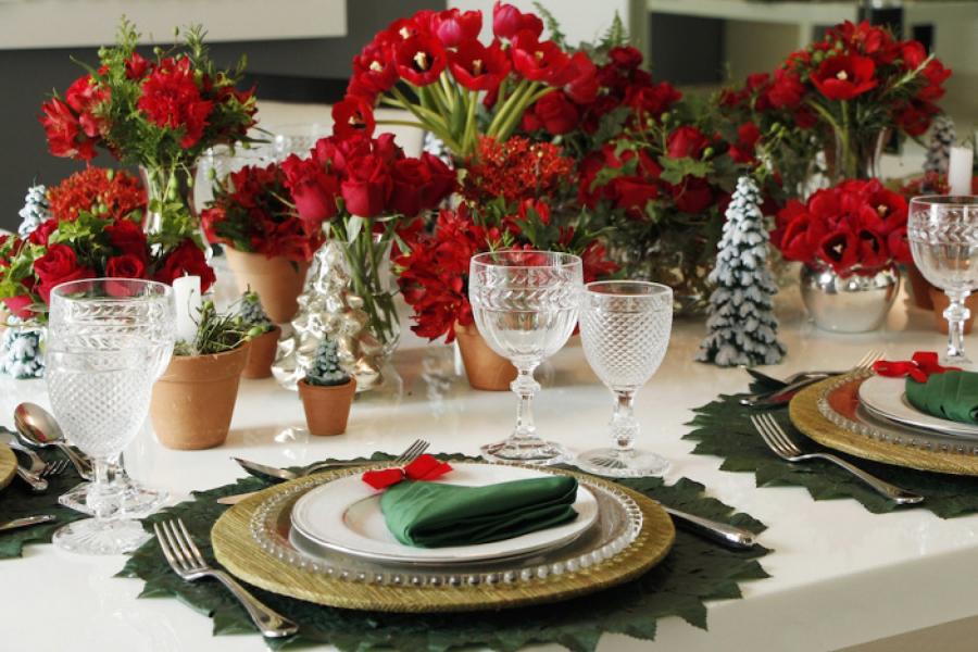 Nutriç u00e3o por Danielle Macedo como montar uma mesa para o natal