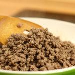 Universitários: como fazer carne moída refogada